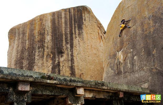 现实生活中的蜘蛛侠; 神奇的印度阿三——现实版的