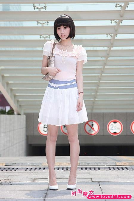 日本潮流搭配做可爱女生