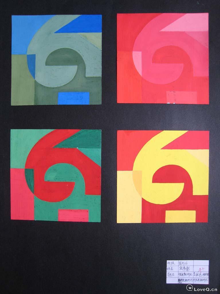色彩构成纯度渐变作业_明度色相图_明度纯度色相推移图,小姐出卖色相图图片